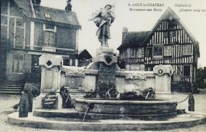 monument aux morts de Blangy le Château ancien emplacement
