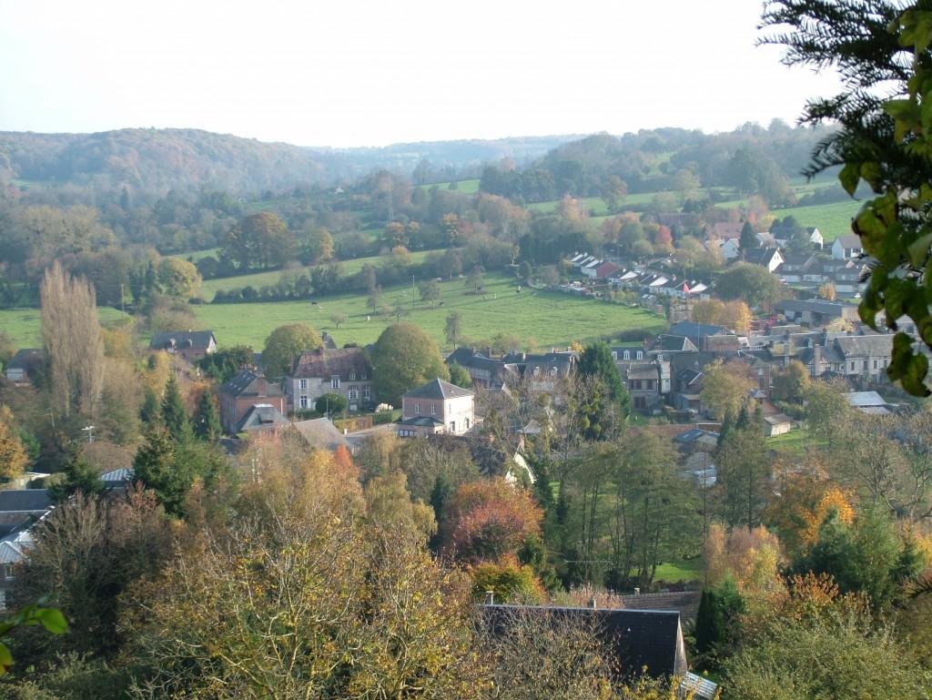 Le site naturel de Blangy le Château. Paysage