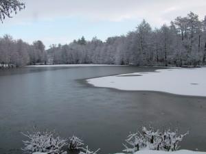 Lac du camping de Blangy le Château
