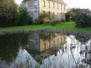 Le plan d'eau du Manoir de Blangy le Château