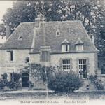 Ancienne école des garçons Blangy le Château, carte postale
