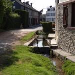 Vannage sur le Chaussey en amont du Moulin à Blangy le Château