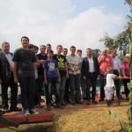 Les élèves de la MFR au comice agricole de Blangy le Château