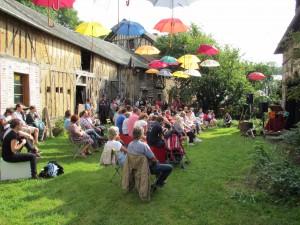 Festival du Solo dans le jardin du Moulin à Blangy le Château