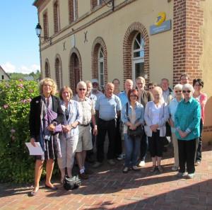 Viste guidée de Blangy avec le Comité de Jumelage de North Tawton
