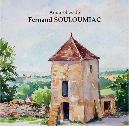 Exposition Fernand Souloumiac, le Périgord à la bibliothèque de Blangy le Château