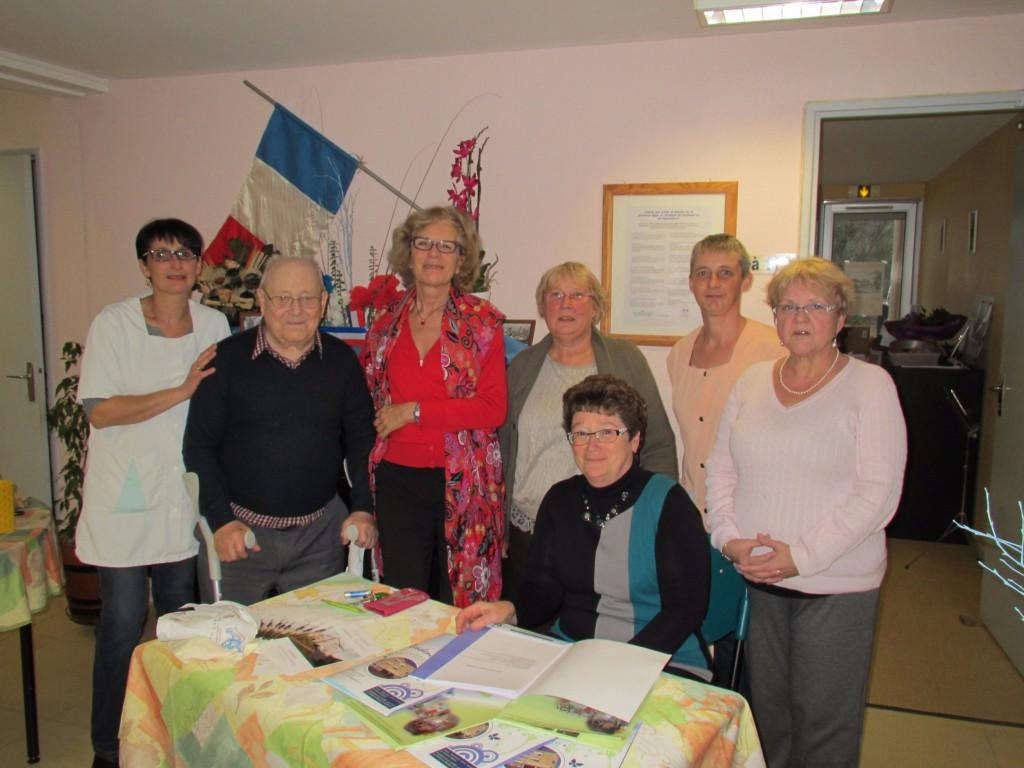Portes ouvertes à la Résidence les Douets, foyer logement pour personnes âgées de Blangy le Château 2015