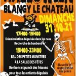 Blangy en fête pour Halloween